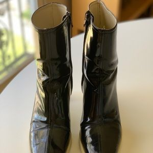 "Banana Republic Shoes - Banana Republic Rain Boots with 3"" heels size 7"